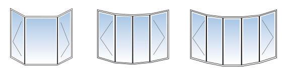 Configuration d'ouverture de fenetre architecturale